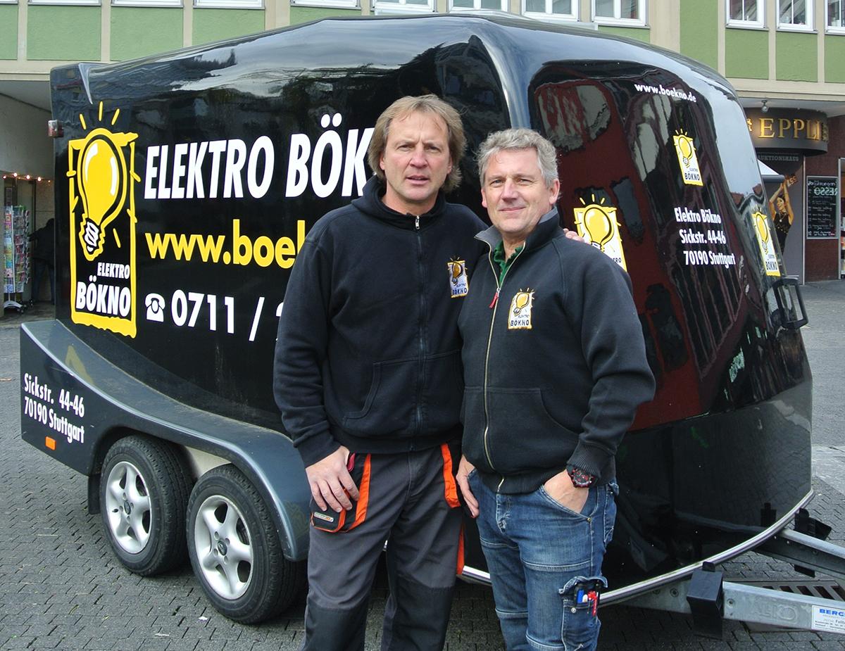 Uwe Böhler (links), Ulli Knotz (rechts)